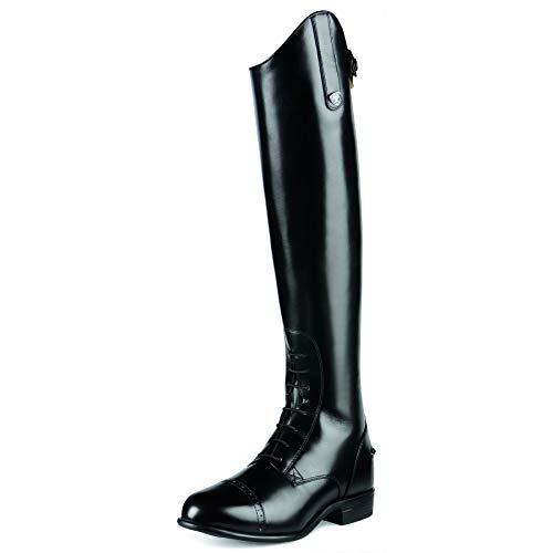 ARIAT Women's Quantum Crowne Pro Field Zip Riding Boot Black 8.5 FM US ()