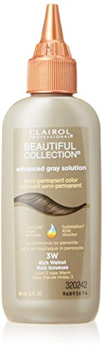 (Clairol Beautiful Collection Advanced Gray Solution #3W Rich Walnut 3oz (2 Pack))