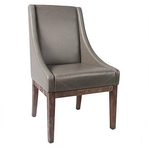 - Hebel Houston Leather Accent Chair | Model CCNTCHR - 250 |