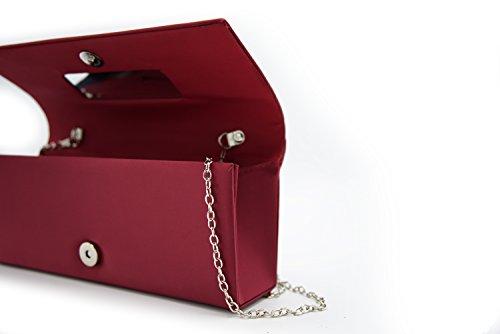AbbinoP-355 - Bolsa Mujer borgoña