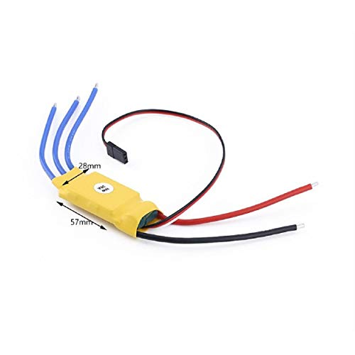 Cinhent 30A RC Brushless Motor Electric Speed Controller RC BEC ESC T-rex 450 V2 Helicopter Boat ()