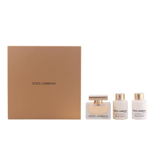 Dolce & Gabbana - The One Set - 2.5 Fl.oz. EDP + 3.3 Fl.oz. Body Lotion + 3.3 Fl.oz. Shower (Gabbana Lily)