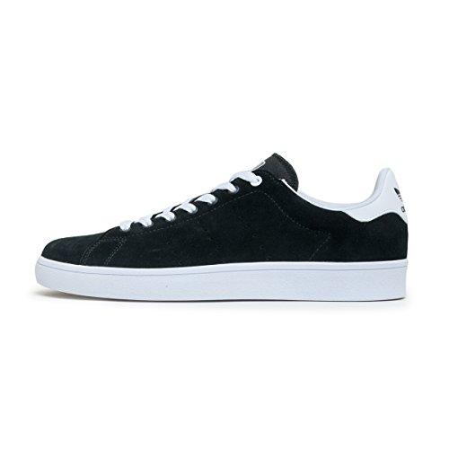 adidas Stan Smith Vulc, Zapatillas de Skateboarding Unisex Adulto Negro ((Negbas/Negbas/Ftwbla))