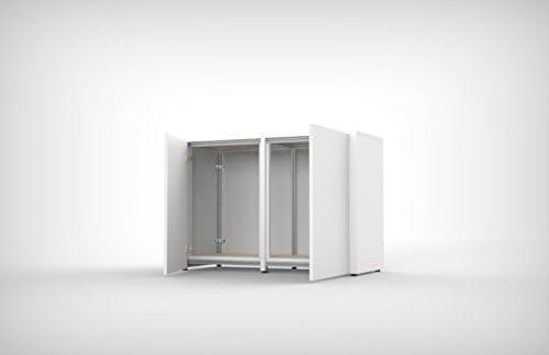 Mobile de soporte Revestimiento de madera con esqueleto de aluminio estructural 120 x 50 x H80: Amazon.es: Productos para mascotas