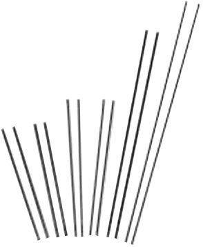 Slice Exothermic Cutting Rods-Flux Uncoateds - ar 43-049-002 slice rod4304-9002 [Set of 25]