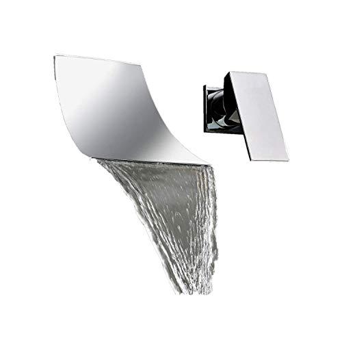 Zingcord Single Handle Contemporary Bathroom Lavatory Vanity Vessel Sink Faucet Chrome Tall Spout Bathtub Faucet Mixer Taps Cheap Discount Plumbing Fixtures Single Hole Bowl Sink Wall Mount Faucet