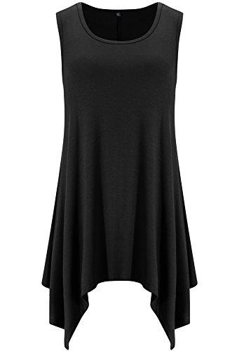Songbai Sleeveless Tie Dye Black 3XL product image