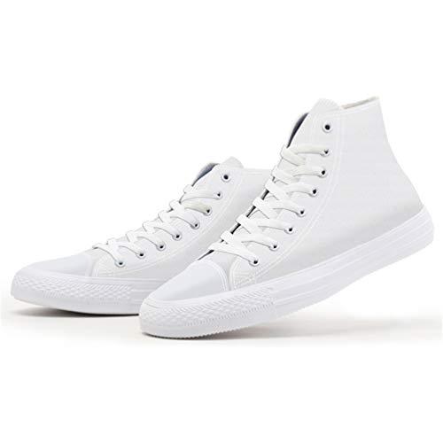 Mens Casuales Joven Alta Sólidos Zapatos Personalizada Lona Hombres De Blanco Primavera Hombre Impreso 3d Zapatillas qqHp4wgrx