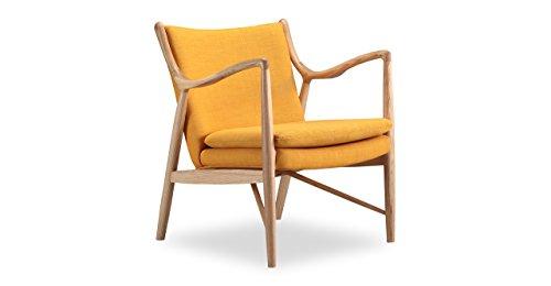 Kardiel Copenhagen 45 Mid-Century Modern Arm Chair, Citrine Twill