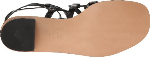 Via Black Women's Rosa Gladiator Spiga fwUYrf