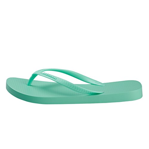 Flip Casa Flops Ducha Mujer Sandalias Chanclas Hotmarzz Playa Verano para Piscina Boda Verde f1Sxv