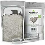 Bentonite Clay Mask Hair 100% Pure Bentonite Clay Powder (1lb) with Scooper for Facial Masks, Acne & Hair  Resealable Pouch - Mix with Essential Oils for Anti Aging Properties - USA Made By Honeydew Products