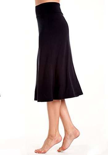 In Touch Bamboo Midi Skirt