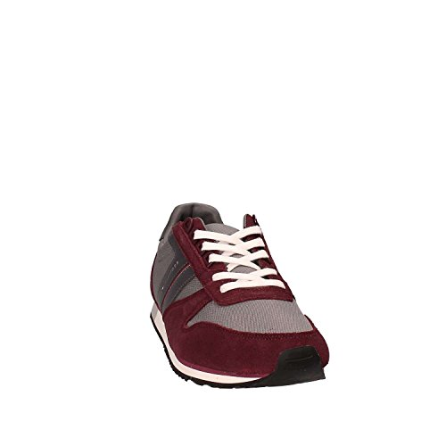 44 Hilfiger grigio Sneakers FM0FM01118 Tommy Rosso Uomo O4fYqw4dS