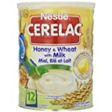 Nestle Cerelac, Honey and Wheat with Milk, 2.2-Pound Thank you for using our service