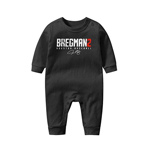 Asik Funny Toddler Baby Onesie Organic Cotton Tshirt Long SleeveClothes 0-12 Months