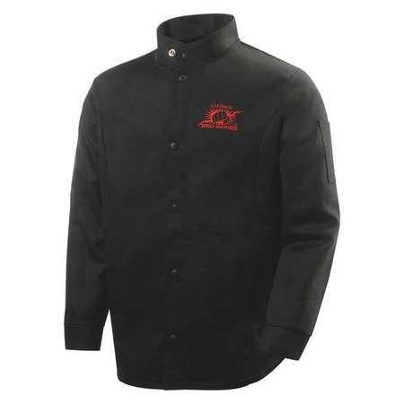 Steiner 1160-3 X 30-Inch SPS Jacket, Weldlite Black 9-Ounce Flame Retardant Cotton, 3X-Large