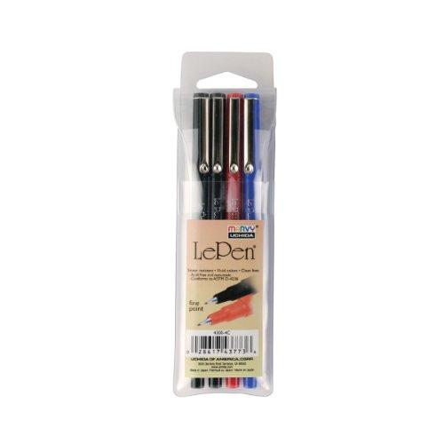 Pens Point Pkgassorted Colors Le Pen 10pc Set