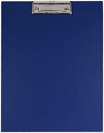 TIPTOP OFFICE Klemmbrett A4 PP - Schreibplatte, Blau
