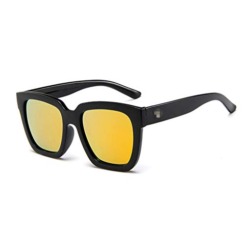 Sunglasses for Women Men!!SFE Unisex Vintage Retro RRadiation Protection Round Sunglasses
