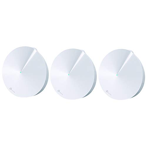 TP-Link Deco Whole Home Mesh WiFi System - Homecare Support, Seamless Roaming, Dynamic Backhaul, Adaptive Routing, Up to 5,500 sq. ft. Coverage (M5) from TP-Link