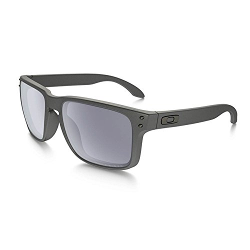 Oakley Holbrook Sunglasses Steel / Polarized - Holbrook Grey Lenses Polarized Oakley