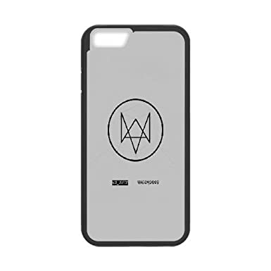 iPhone 6 4 7 Inch Cell Phone Case Black watchdog gray logo game