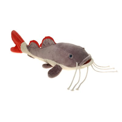 Red tail catfish plush stuffed fish toy by fiesta toys for Fish stuffed animals