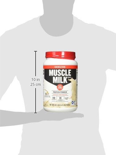 Muscle Milk Genuine Protein Powder Cake Batter 32g