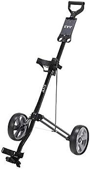 KVV 2-Wheel Aluminum Frame Golf Push Cart