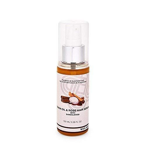 Teal & Terra Hairfall and Dandruff treatment (Serum/Very light Oil) with Onion Oil, Castor Oil, Argan Oil, Jojoba Oil, Bhringraj, Amla Vitamin E
