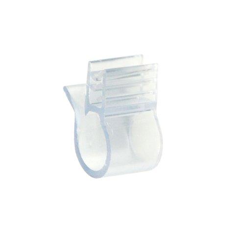 Displays2go–Set de 500Etiqueta de precio soportes, cartel empuñaduras para soportes para estantes de alambre, al por...