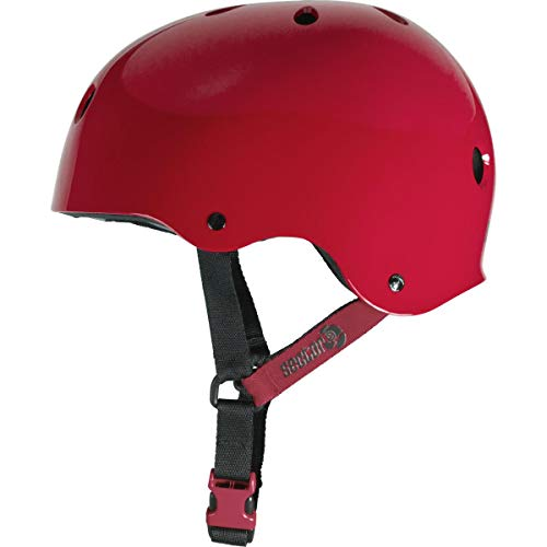 Sector 9 Summit CPSC/CE Certified Skateboarding, Longboarding and Bike Helmet (Red, Large/X-Large)
