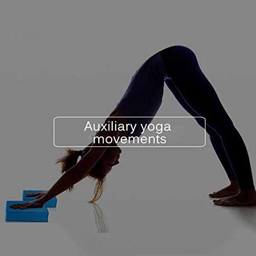 STRMSF Yoga Block Lightweight High-Density EVA Foam Block to Support Deepen Poses Odor Resistant Moisture-Proof Improve Strength Aid Balance Flexibility 2 pcs