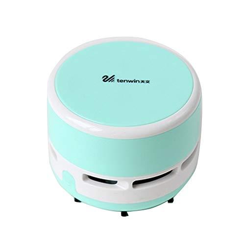 Mini Portable Desktop Vacuum - Handheld Cordless Tabletop Cr