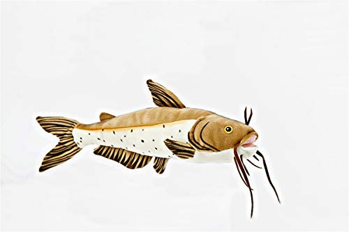 Collectible Wildlife Gifts Channel Catfish 17-inch Stuffed Plush Toy Fish - F2007 B80T