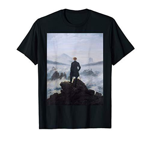 (Wanderer above the Sea of Fog Caspar Friedrich Painting Tee)