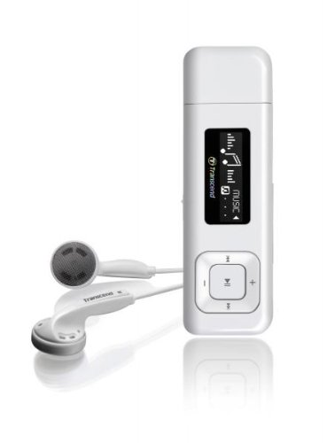 Transcend Digital Music Player 8GB MP-330(White)