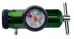 Click Style Oxygen Regulator - 7