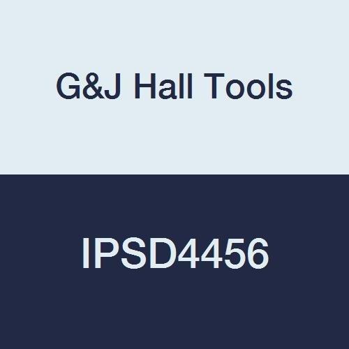 G/&J Hall Tools IPSD4456 Powerbor Step Drill 1 Depth 7//16-9//16 Cutting Diameter 3//4 Shank