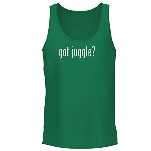 Glow Ring Desert (BH Cool Designs got Juggle? - Men's Graphic Tank Top, Green, Large)