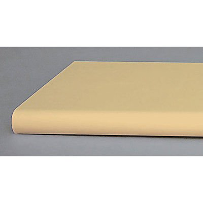 Pack of 10 New Retails Almond Bullnose Shelf with Open Bottom 13''x48''