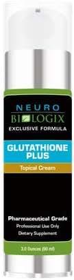 Glutathione Plus Topical Antioxidant Supplement (3 Ounces 9 Milliliters)