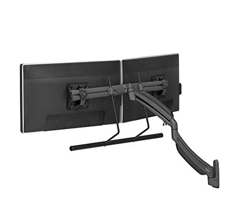 Chief K1 Wall Mount Dual Display Stand 2l Arm H-Array,BlacK