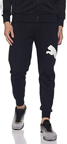 PUMA Big Logo Pants FL Pantaloni Uomo Neri 58056901