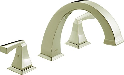 Delta Faucet T2751-PN Dryden Roman Tub Trim, Polished Nickel (Polished Roman Nickel Tub)