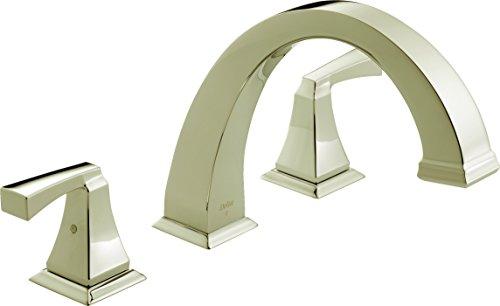 (Delta Faucet T2751-PN Dryden Roman Tub Trim, Polished Nickel)