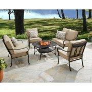 Better Homes and Gardens Warrens 5-Piece Aluminum Firepit Set
