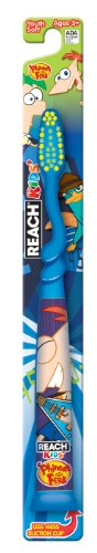 (Reach Disney Phineas and Ferb Soft Youth Toothbrush)