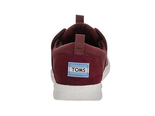 Toms Womens Del Rey Sneaker Burgundy.canvas